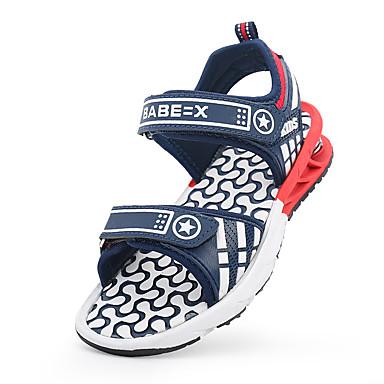 Miehet kengät Tekonahka Kevät Kesä Sandaalit Tarranauhalla Käyttötarkoitus Tumman sininen Laivastosininen
