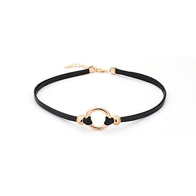 Dámské Obojkové náhrdelníky - Jedinečný design Černá Náhrdelníky Pro Narozeniny Dar Denní Kancelář a kariéra