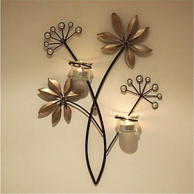 Wall Decor Iron Classical Wall Art, Wall Hangings of 1