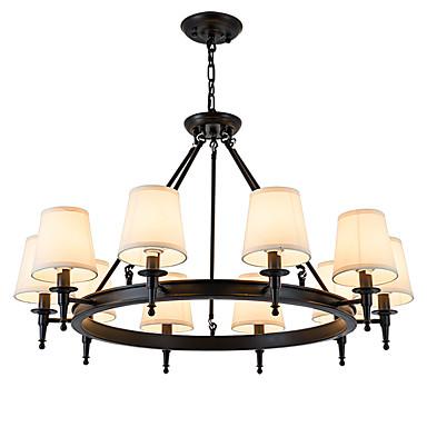 LightMyself™ 10-الضوء تركيب السقف المدمج تصدر حرارة عالية / ضوء فوق - LED, المصممين, 110-120V / 220-240V لا يشمل لمبات / 30-40㎡ / E12 / E14