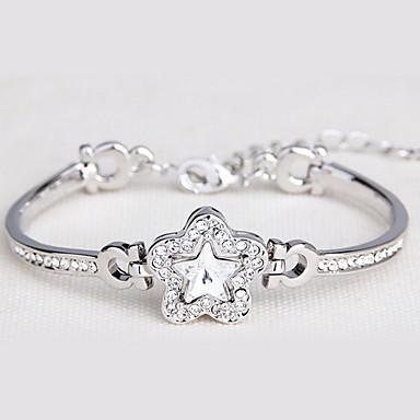 Damen Ketten- & Glieder-Armbänder Schmuck Retro Natur Modisch Handgemacht Krystall Aleación Runde Form Sternenform Schmuck Für Hochzeit