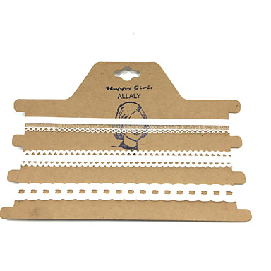 Dámské Krajka Obojkové náhrdelníky - Jedinečný design Pro nevěstu Bílá Černá Náhrdelníky Pro Svatební Dar Denní Ležérní Sport Venkovní