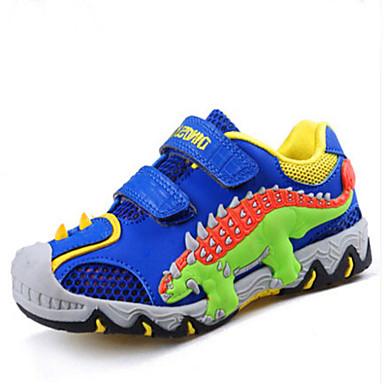 Jungen Schuhe Tüll Sommer Herbst Freizeit Komfort Sneakers Tierdruck Für Normal Sport Marinenblau Königsblau