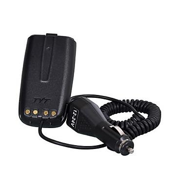 Para tyt f5 carregador de carro eliminador de bateria walkie talkie rádio de presunto hf transceptor