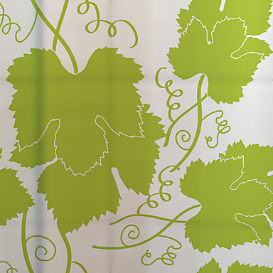 Listy/Stromy Moderní Nálepka na okna, PVC/Vinil Materiál dekorace oken Jídelna Ložnice kancelář dětský pokoj Obývák Bath Room Obchod s
