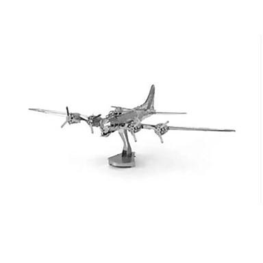 Quebra-Cabeças 3D Quebra-Cabeça Quebra-Cabeças de Metal Brinquedos de Montar Tanque Barco de Guerra Aeronave Faça Você Mesmo Aço