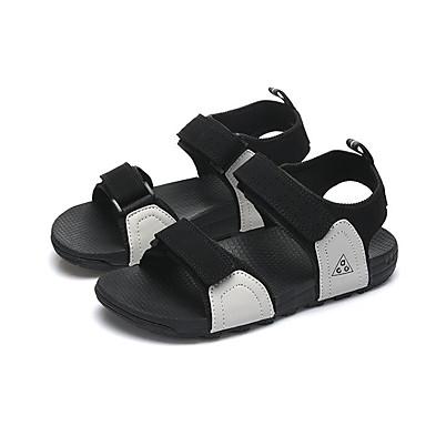 Herren Schuhe Gummi Frühling Komfort paar Schuhe Sandalen Für Normal Schwarz Grau Purpur