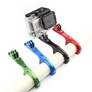 ราคาถูก กล้องถ่ายภาพกีฬาและอุปกรณ์เสริมสำหรับ Gopro-Handlebar Mount สามารถปรับได้ สำหรับ กล้องแอคชั่น Gopro 6 ทั้งหมด จักรยาน อลูมิเนียมอัลลอยด์