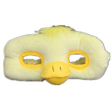Máscaras de Dia das Bruxas Máscara de Animal Animais de Pelúcia Brinquedos Pato Tecido Felpudo Terror Peças Mulheres Para Meninas Dom