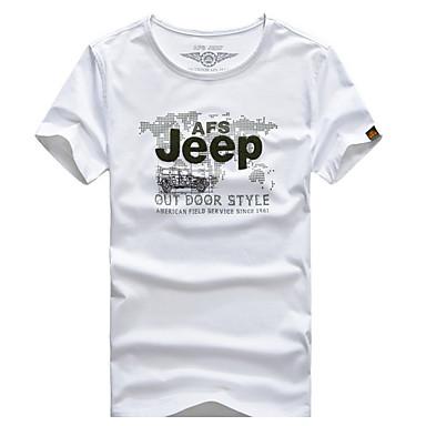 Herrn T-Shirt für Wanderer Bequem T-shirt Oberteile für Freizeit-Radfahren Sommer M L XL XXL XXXL