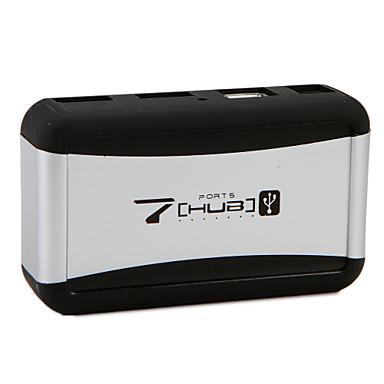 7 USB Hub USB 2.0 USB 2.0 With Power Adapter Data Hub