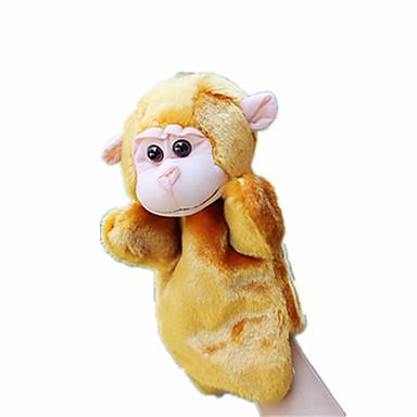 Fantoches de dedo Rabbit / Macaco Animais / Adorável Tecido Felpudo Crianças Dom
