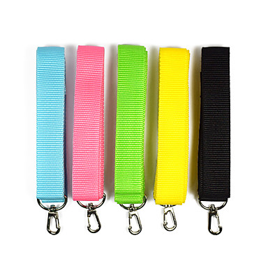 Cat / Dog Portable / Safety Solid Colored Nylon Blue / Pink / Black