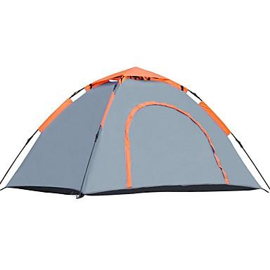 Shamocamel® 2 Pessoas Tenda Único Barraca de acampamento Ao ar livre Tenda Automática para Campismo / Viajar 200*140*110cm
