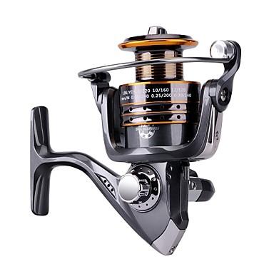 Molinetes de Pesca Molinetes de Isco de Pesca no Gelo Molinetes de Isco de Carpa Molinetes Rotativos 5.2:1 Relação de Engrenagem+13