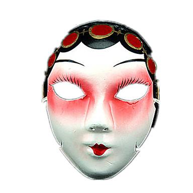 NEW Máscaras de Dia das Bruxas / Máscara de Desenho Animado Terror Peças Unisexo Crianças / Adulto Dom