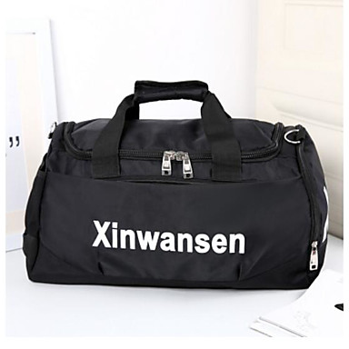 Unisex Bags Oxford Cloth Polyester Travel Bag for Casual Outdoor All Seasons Blue Black Violet
