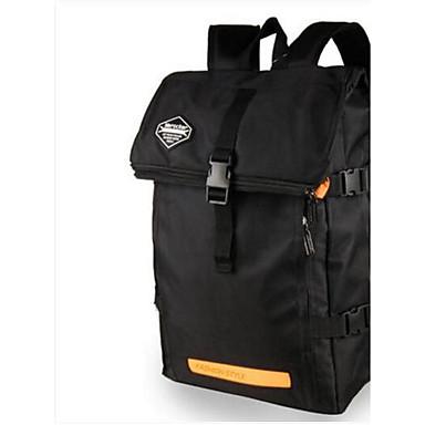 Miesten Kassit PU Backpack varten Kausaliteetti Kaikki vuodenajat Musta