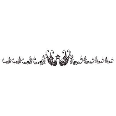 5PCS Fashion Bracelet Body Art Waterproof Temporary Tattoos Stickers (Size 1.18'' by 6.3'')