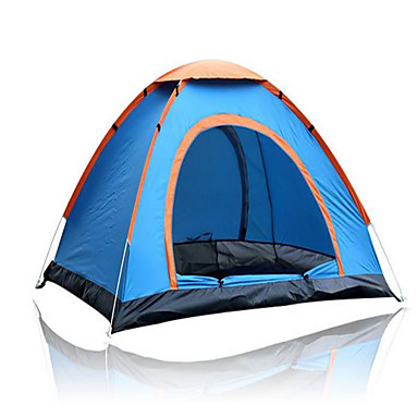 3 - 4 person Tent Camping Tent Outdoor Automatic Tent Keep Warm Dust Proof for Camping / Hiking Other Material