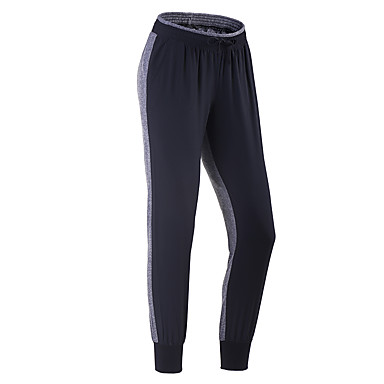 Running Pants Fitness, Running & Yoga Quick Dry Breathable 3/4 Tights for Running/Jogging Exercise & Fitness Slim Black