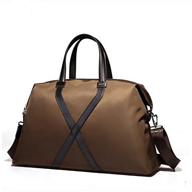 Men's Bags PU Travel Bag for Casual Outdoor All Seasons Coffee