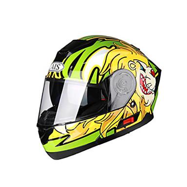 AIS 605 MotorcycleHelmet Full Helmet Built-in radio with Bluetooth headset Helmet Motorcycle Racing With Black Tea Len