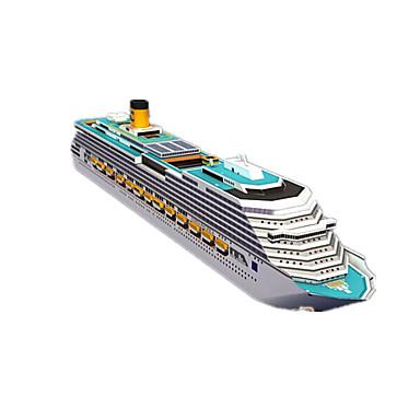 3D Puzzles Jigsaw Puzzle Model Building Kits Paper Craft Toys Ship 3D DIY Simulation Unisex Pieces