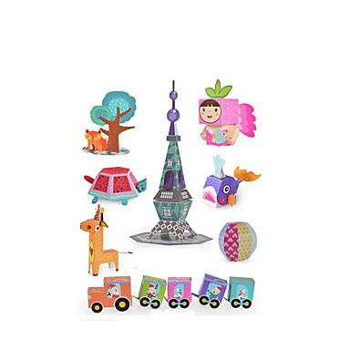Maquetes de Papel Artesanato de Papel Faça Você Mesmo Clássico Crianças