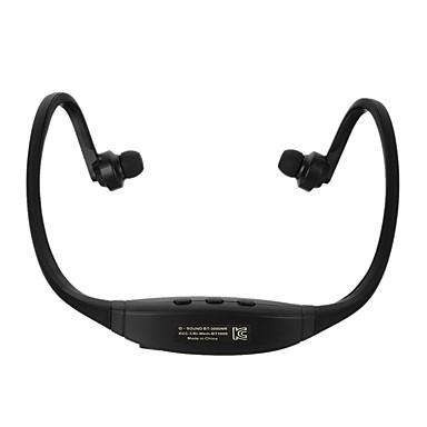 Cwxuan Sem Fio Fones Plástico Esporte e Fitness Fone de ouvido Com controle de volume Com Microfone Fone de ouvido