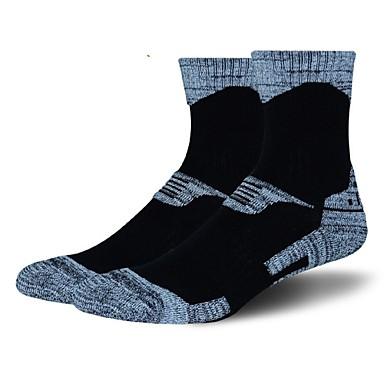 Sport Socks / Athletic Socks Bike/Cycling Socks Men's Yoga Running/Jogging Cycling Hiking Climbing Keep Warm Camping & Hiking Anatomic