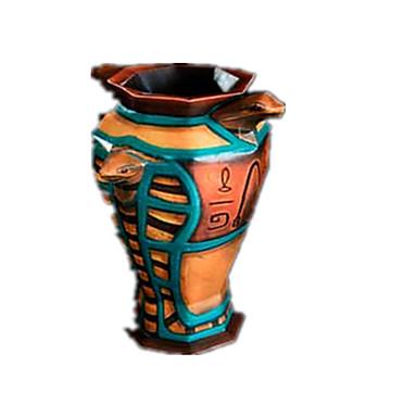 Quebra-Cabeças 3D Quebra-Cabeça Artesanato de Papel Brinquedos de Montar Vaso 3D Simulação Artigos de mobiliário Faça Você Mesmo Clássico