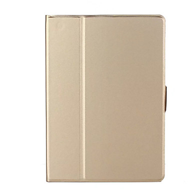 Capinha Para Apple iPad Air 2 iPad Air Ultra-Fina Capa Proteção Completa Côr Sólida Rígida PU Leather para iPad Air iPad Air 2 iPad 9.7