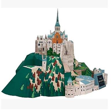 3D palapeli Paperimalli Pienoismallisetit Neliö Kuuluisa rakennus Arkkitehtuuri DIY Kova kartonki Klassinen Unisex Lahja