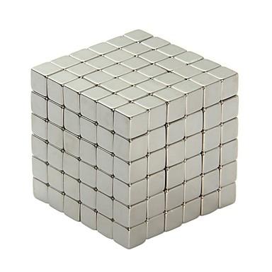 64 pcs 3mm Mágneses játékok Mágneses blokk Építőkockák Puzzle Cube Szupergyurma Klasszikus és időtálló Összecsukható Focus Toy Mágneses Gyermek / Felnőttek Fiú Lány Játékok Ajándék