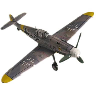 Quebra-Cabeças 3D Maquetes de Papel Brinquedos de Montar Aeronave Lutador Cartão de Papel Duro Crianças Unisexo Dom