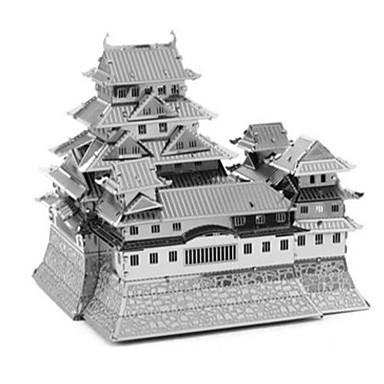 Quebra-Cabeças 3D Quebra-Cabeça Quebra-Cabeças de Metal Brinquedos de Montar Quadrada 3D Faça Você Mesmo Alumínio Metal Aniversário