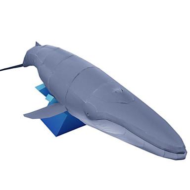 Quebra-Cabeças 3D Maquetes de Papel Artesanato de Papel Brinquedos de Montar Peixes Faça Você Mesmo Clássico Unisexo Dom