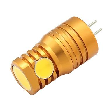 2W 180 lm G4 LED-lamper med G-sokkel T 4 leds COB Varm hvit