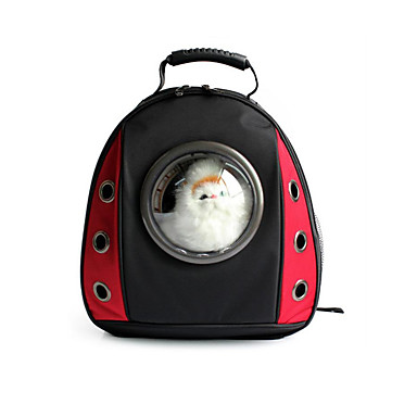 Kissa Koira Tavaratelineet ja rinkat Lemmikit Tavaratelineet Kannettava Hengittävä Yhtenäinen Color Block Punainen Vihreä