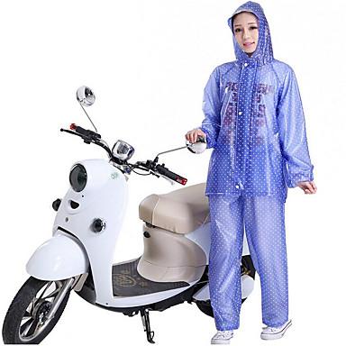Roupa da motocicleta Capa de Chuva para Todos Couro PU / Couro de Poliuretano / Poliéster / PVC Todas as Estações Impermeável / Sem Cheiros / Dobrável