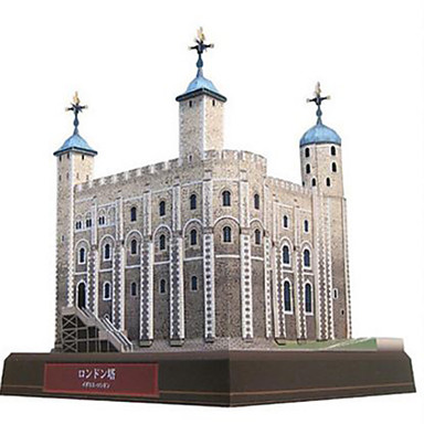 3D palapeli Paperimalli Lelut Neliö Torni Kuuluisa rakennus Arkkitehtuuri DIY Kova kartonki Ei määritelty Pieces