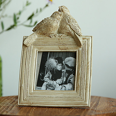Picture Frames Casual Retro Novelty Resin The Bird Village Hand-Painted Jewelry Ornaments