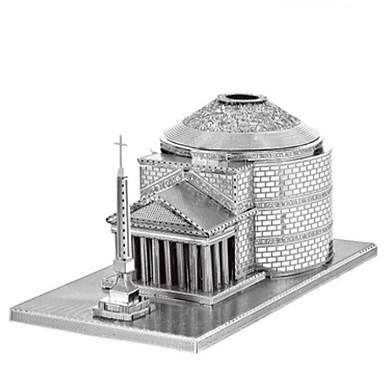 3D építőjátékok Fejtörő Fém építőjátékok Torony DIY Fémes Rozsdamentes acél Króm Klasszikus Gyermek Felnőttek Uniszex Ajándék