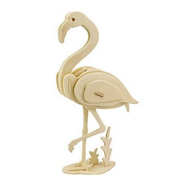 3D-puslespill Puslespill Tremodeller Fugl Dinosaur Luftkraft Dyr 3D GDS Tre Klassisk Barne Unisex Gave