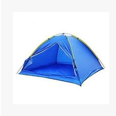 3-4 personer Telt Enkelt camping Tent Brette Telt Hold Varm til Camping & Fjellvandring Andre Material CM