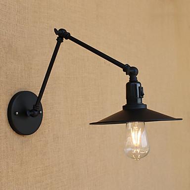 LED Land Retro Rød Swing Arm Lights Til Metall Vegglampe 110-120V 220-240V 4W