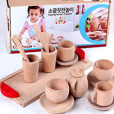 Imposta Cucina Giocattolo Giochi Di Emulazione Simulazione Di Legno Per Bambini Da Ragazza Giocattoli Regalo 1 Pcs #05990513 Ultima Moda