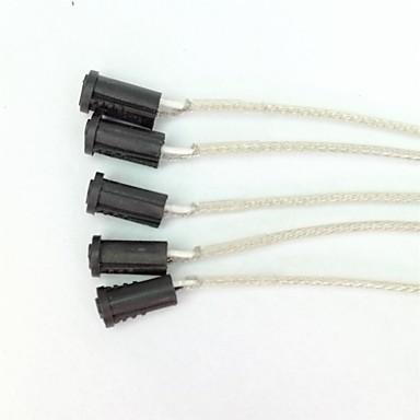 g4 plastlampeholder 1m fiskenett 5piece høy kvalitet belysningsutstyr