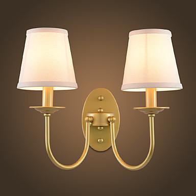 Rusztikus Egyszerű Modern/kortárs Hagyományos/ Klasszikus Fali lámpák Kompatibilitás Fém falikar 220 V 110 V 60W